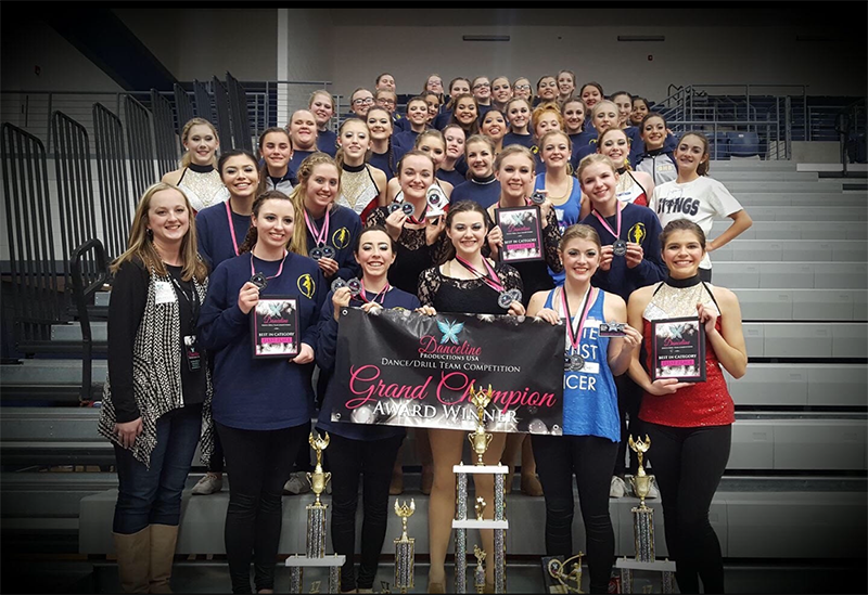 With their eyes focused on the gold, the Stings come home state grand champions.