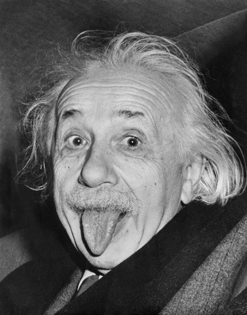Einstein was a well-known weirdo.