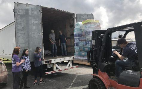 FFA partners with Erath County Texas Farm Bureau, collects donations for Hurricane Harvey victims