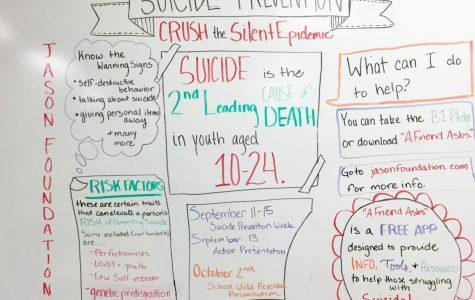 Suicide Prevention Chart