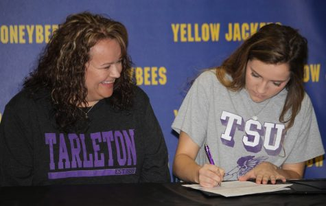 Hailey Martin signs with Tarleton State University