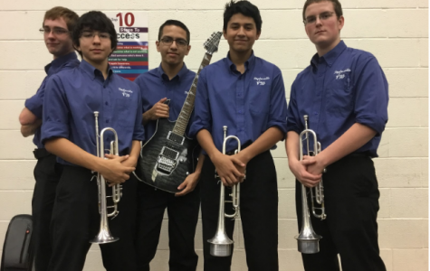 Band Students Compete in Solo and Ensemble