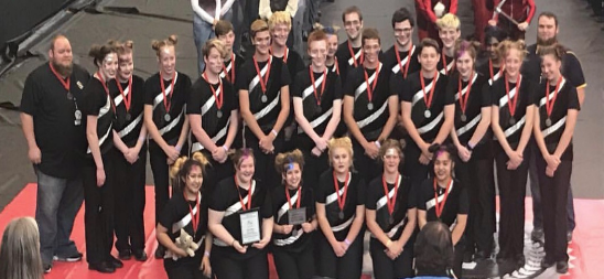 Drumline competes, earns awards