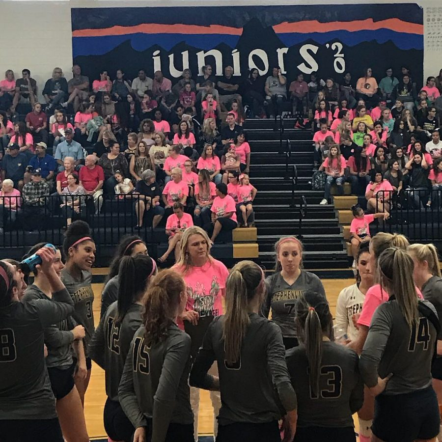 Videos: Pink Out Volleyball Game