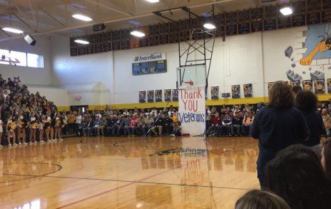 Veterans Pep Rally (11-16-18)