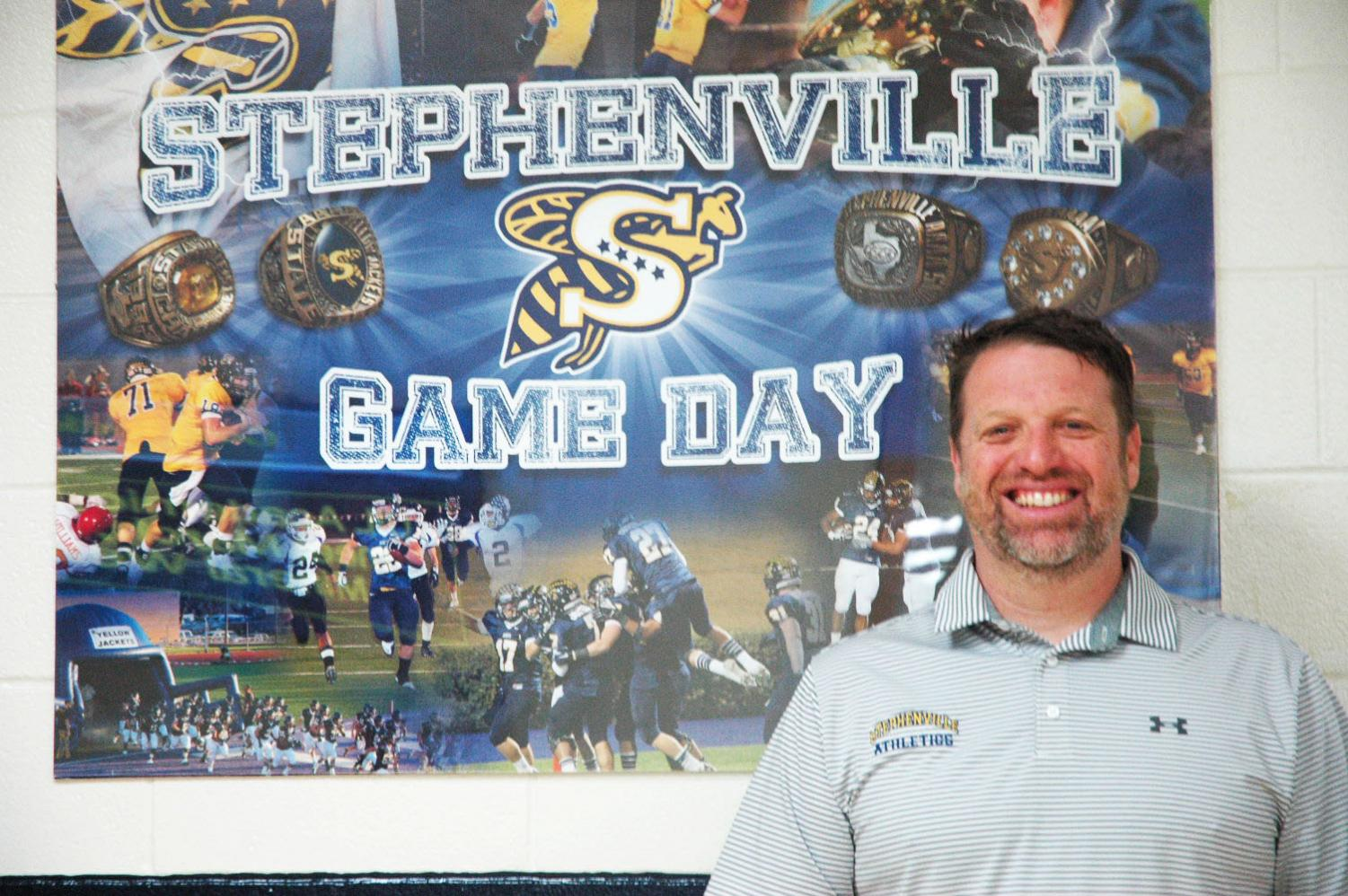 Athletic Director Coach Womack moves to a town rich in tradition because he values family in his life as well as what the Yellow Jackets and Honeybees stand for.