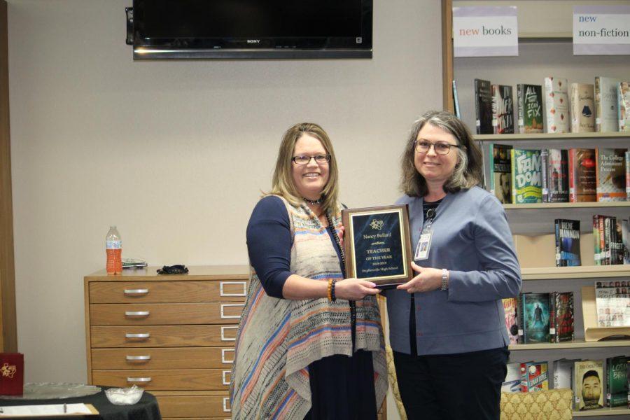 English teacher Nancy Bullard wins Teacher of the Year!