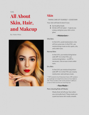 All about skin, hair, makeup