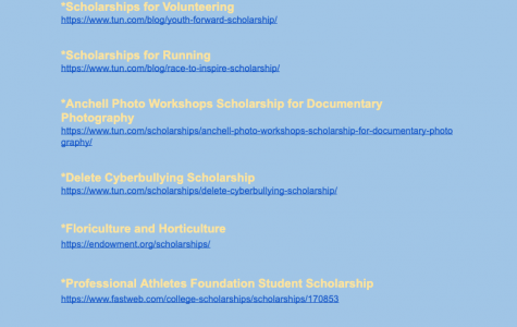 Scholarships for High Schoolers