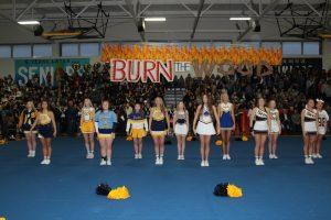 Burn the Wood/Throw Back Pep Rally