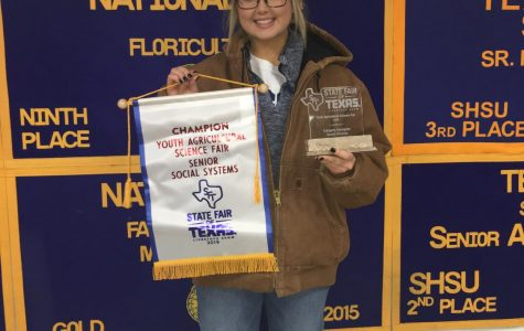 FFA member wins Social Systems scholarship at State Fair